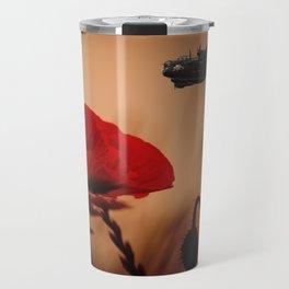 Avro Lancaster Memorial Travel Mug