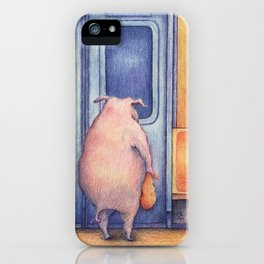 The Commuters iPhone Case