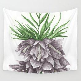 Fritillaria Lavendar Wall Tapestry