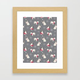 Dogs of Hewlett Framed Art Print