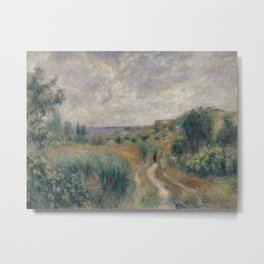 Landscape around Essoyes Metal Print