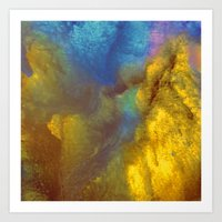 golden Art Prints featuring Golden by Benito Sarnelli