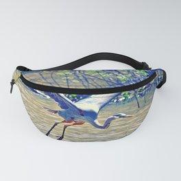 Flying (Blue Heron) Fanny Pack