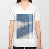racing V-neck T-shirts featuring STREET RACING by Manuel Estrela 113 Art Miami