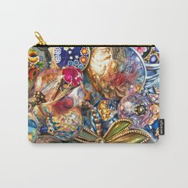 Ruby Liberty Dragonfly Carry-All Pouch