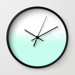 Lou Kirsten Series - Mint Wall Clock