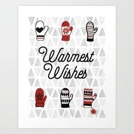 Warmest Wishes Art Print