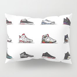 aj 1-12 are my favs especially I, IIi, IV, VI, IX, XI, XII Pillow Sham