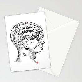 · Phrenology ·  Stationery Cards
