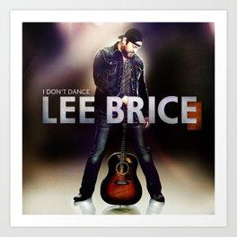Lee Brice Tour Date 2018 Gong1 Art Print