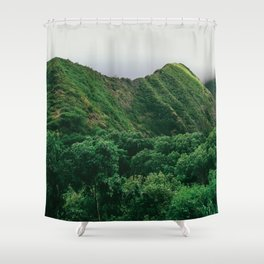 Quiteness Shower Curtain