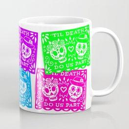 Day of the Dead Sugar Skull Papel Picado Flags Coffee Mug