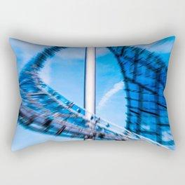 Roof of the olympic center Munich Rectangular Pillow