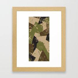WOODWOLF | Co.  CAMO Framed Art Print