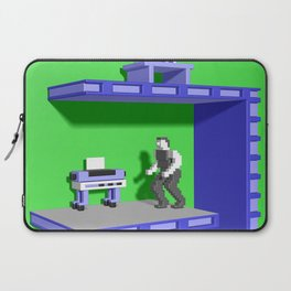 Inside Impossible Mission Laptop Sleeve