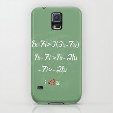 Math love Galaxy S5 Slim Case