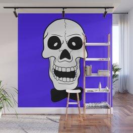 Hogarth on Violet Blue Wall Mural