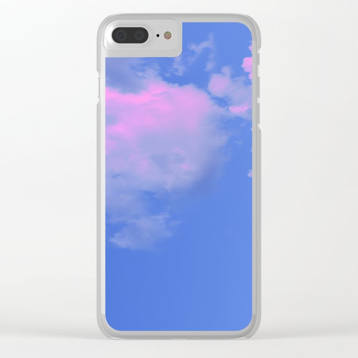 The Colour of Clouds 02 Clear iPhone Case
