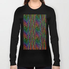 Neon Waves Long Sleeve T-shirt