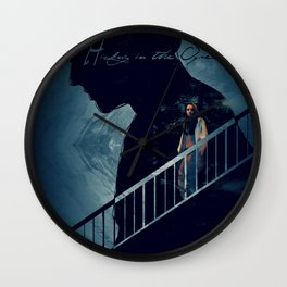 Hiding in the Open Wall Clock