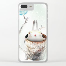Can time the rabbit Clear iPhone Case
