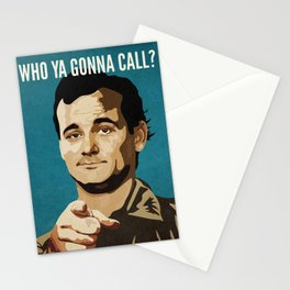 Who Ya Gonna Call? Ghostbusters Stationery Cards