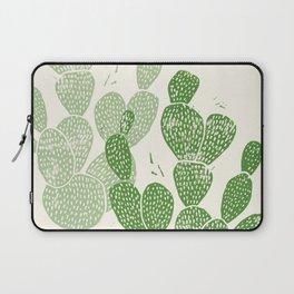 Linocut Cactus #1 Laptop Sleeve