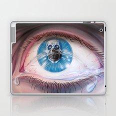 Death in the eyes Laptop & iPad Skin