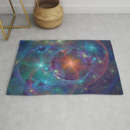 Galactic Stars Rug