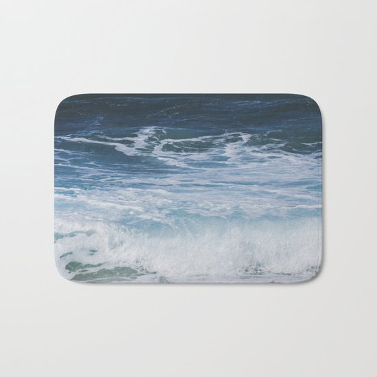 Ocean waves from the depths of the stars Bath Mat