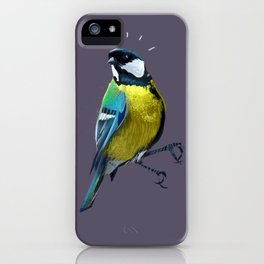 Great Tits iPhone Case