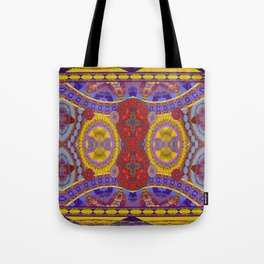 Mystical Magic Circus Abstract Print Tote Bag