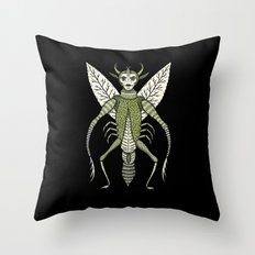 Ten-Legged Creepy Crawly Throw Pillow