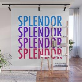 SPLENDOR Wall Mural