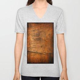 Wood Texture 340 Unisex V-Neck