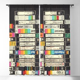 VHS Stack Blackout Curtain