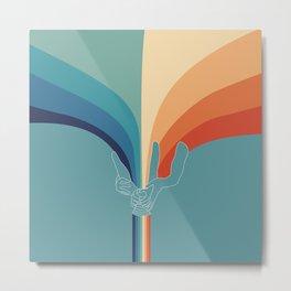 love creates rainbows Metal Print