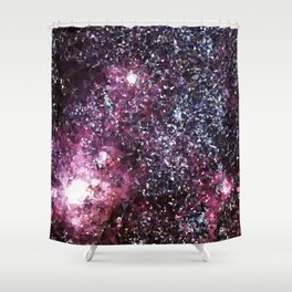 Galaxy Low Poly 21 Shower Curtain