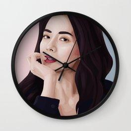 Song ji hyo Wall Clock