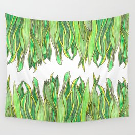 The Snake Plant Wall Tapestry
