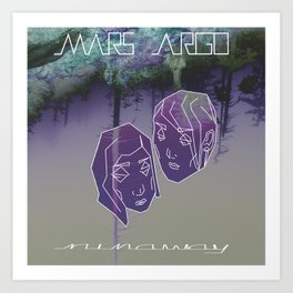 MARS ARGO _runaway_ Art Print