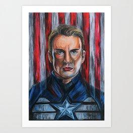 Captainamerica Art Print