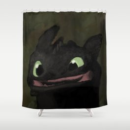 Toothless Grin Shower Curtain