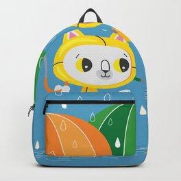 Rainy Day Kitty Cats Backpack