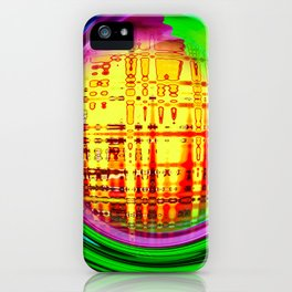 Abstract Perfection 30 iPhone Case