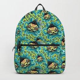 Cute Skull Elvis Backpack