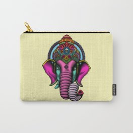 psychedelic elephant Carry-All Pouch