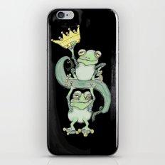 King Frog iPhone & iPod Skin