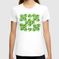 clover T-shirts featuring Clover Print by UMe Images