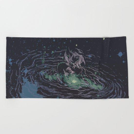 Universe of Love Beach Towel
